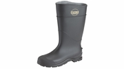 "Norcross Servus 18821-10  16"" Steel Toed Black Economy Knee Boot Size 10"