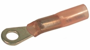 "Pico 2813PT  22-16 AWG Electrical Wiring Solder Seal Heat Shrink 1/4"" Ring / Eye Terminals 5 per Package"