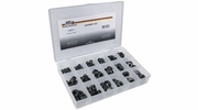 Pico 0003-G  150 Piece Assorted Grommet Kit 1/4 to 1 inch