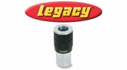 "Legacy ColorConnex Black Type G Automotive 3/8"" Body Quick-Disconnect Couplers and Plugs"