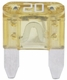 Bussmann ATM-20  Yellow ATM 20 Amp Fast-Acting Automotive Mini Blade Fuses - 5 per Box