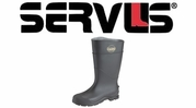 "Norcross Servus 16"" Black Economy Knee Boot"