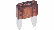 Bussmann ATM-7-1/2  Brown ATM 7-1/2 Amp Fast-Acting Automotive Mini Blade Fuses - 5 per Box