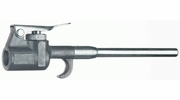 """Tru-Flate 18-302  1/4"""" NPT Pocket Size Safety Blowgun with Vented 4"""" Extension - 150 PSI"""