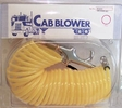 Cab Blower 10025  25' Coiled Air Hose with Swivel Fittings and Quick Connect Coupler