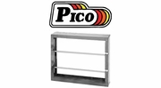 Pico Empty Metal Wire Spool Racks
