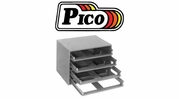 Pico Empty Metal Kit Drawer Racks