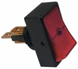 Pico 5516A  12 Volt 16 Amp On-Off Red Illuminated Rocker Switch 25 Per Package