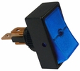Pico 5518A  12 Volt 16 Amp On-Off Blue Illuminated Rocker Switch 25 Per Package