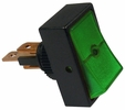 Pico 5519PT  12 Volt 16 Amp On-Off Green Illuminated Rocker Switch 1 Per Package