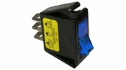 Pico 5532A  12 Volt 16 amp On-Off Blue Illuminated Rocker Switch Flush Mount 25 Per Package