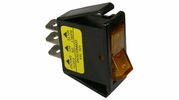 Pico 5534A  12 Volt 16 amp On-Off Amber Illuminated Rocker Switch Flush Mount 25 Per Package