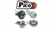Pico Light Socket Assemblies By Vehicle Use (Stop-Tail-Turn)