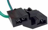 Pico 5744PT  1965-On Power Brake Repair Harness Two Lead Wiring Pigtail (D1AZ-13410-A)