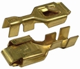 """Pico 1599QT  Electrical Wiring Brass 0.250"""" Female Lock Receptacle Connector 2 Per Package"""