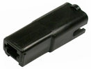 """Pico 1862A  Black Plastic 0.250"""" Tab Quick Connect Body 100 Per Package"""