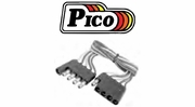 Pico Pre-Wire Molded Flat Style Trailer Connectors