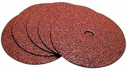 """Makita 742072-A-5  5"""" x 7/8"""" Arbor Abrasive Grinding Discs 24 Grit - 5 per Package"""