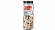 """Porter Cable 5561  Size """"10"""" Plate Joining Biscuit Tubes 125 Biscuits per Package"""