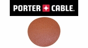 "Porter Cable Adhesive Back 6"" No-Hole Sanding Discs"
