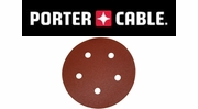 "Porter Cable Hook & Loop 5"" 5-Hole Sanding Discs"