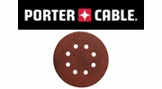 "Porter Cable Hook & Loop 5"" 8-Hole Sanding Discs"
