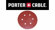 "Porter Cable Hook & Loop 6"" 6-Hole Sanding Discs"