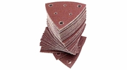 Fein 6-37-17-111-01-4  Triangular Hook & Loop Sanding Sheets w/Dust Extraction Holes 100 Grit 50 per Package (63717111014)
