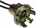 Pico 5441A  1970-1980 Ford Stop-Tail-Turn -Park Light Socket Double Contact w/Ground Terminal (D1AZ-13410-B, D2OZ-13410-B) 25 per Package