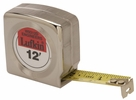 """Lufkin W9312D  3/4"""" x 12' Mezurall Power Return Engineers Pocket Tape Measure with 10ths and 100ths"""