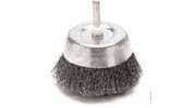 "Performance Tool W1213  3"" Fine Wire Brush Cup with 1/4"" Shank"