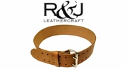 R & J Leathercraft Leather Tool Work Belts