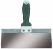 """Wal-Board Tools 18-058  8"""" x 3"""" Stainless Steel Blade Taping Knife with Tuff-Grip Handle (TGS-08)"""