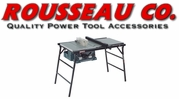 Rousseau PortaMax Table Saw Stands & Accessories