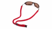 Chums RCH102S  Original Cotton Eye Glasses Retainer Standard End - Red
