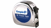 "Empire Level 616  3/4"" x 16' Chrome Case Power Tape Measure with Slide Lock"