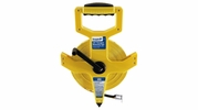 "Empire Level 6820  1/2"" x 200' Open Reel Fiberglass Measuring Tape - Inch and Engineers Scale"