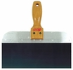 "Wal-Board Tools 18-002  8"" x 3"" Blue Spring Steel Blade Taping Knife with Wood Handle (JK-08)"