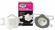 SAS Safety 8641  P100 Particulate Respirator with Exhalation Valve - 2 per Package