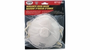 SAS Safety 8712-50  N95 Rated Dust / Chemical Odor Respirator with Exhalation Valve - Single