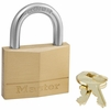 "Master Lock 150D  2"" Wide Solid Brass Body Padlock with 1"" Shacle Height"