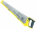 "Stanley 20-527  20"" x 12 PPI SharpTooth Fine Finish Handsaw with Rubber Grip"