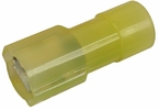 """Pico 1965G  12-10 AWG(Yellow)  Nylon Fully Insulated Electrical Wiring 0.250"""" Tab Female Quick Connect Receptacle Terminal 100 Per Package"""