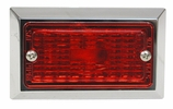 Peterson V126R  Rectangle Clearance/Side Marker Light Red
