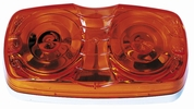 Peterson V138A  Double Bulls Eye Clearance & Side Marker Light Amber