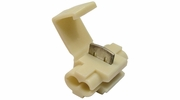 Pico 1564A  18-14 AWG (White) Electrical Wiring Hot Line Double Pass Through Quick Splice / Tap-In 250 Per Package