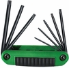 Eklind 25581  8 Piece Ergo-Fold Torx Fold-Up Hex Key Set (T8 to T40)