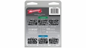 Arrow Fastener RK6120  120 Piece Rivet Assortment (Aluminum and Steel)