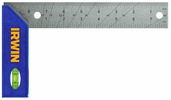 """Irwin 1794473  8"""" Try Miter Square Stainless Blade Poly Handle"""