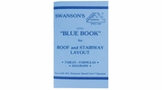 """Swanson P0110  Little """"Blue Book"""" for Roof and Stairway Layout"""